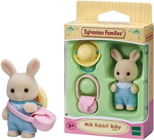Sylvanian Families baby wit konijn