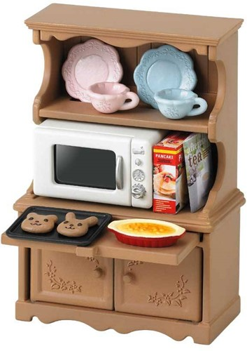 Sylvanian Families  accessoires Kast met Oven 3561