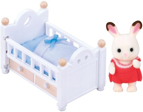Sylvanian Families Set Baby Chocoladekonijn 5017