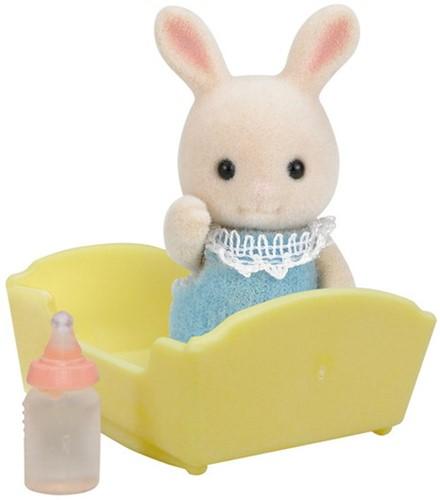 Sylvanian Families Baby Wit Konijn 5063