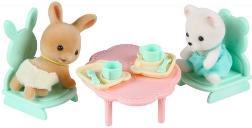 Sylvanian Families speelkamer met baby's