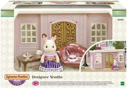 Sylvanian Families Town Series Mode - Ontwerpers Studio 6006
