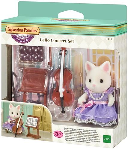 Sylvanian Families Town Series Celloconcertset 6010
