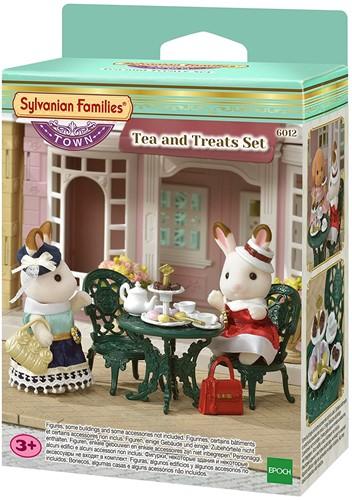 Sylvanian Families Town Series Thee En Delicatessenset 6012