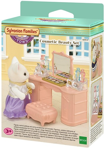 Sylvanian Families Town Series Make-Up Tafel Set 6014