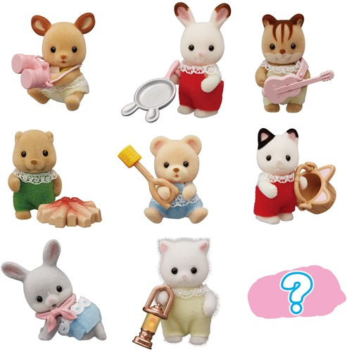 Sylvanian Families  baby camping serie- 5465
