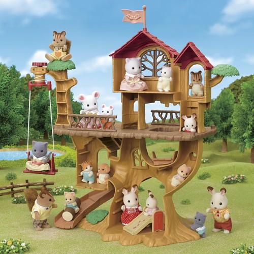 Sylvanian Families Avontuurlijke boomhut - 5450